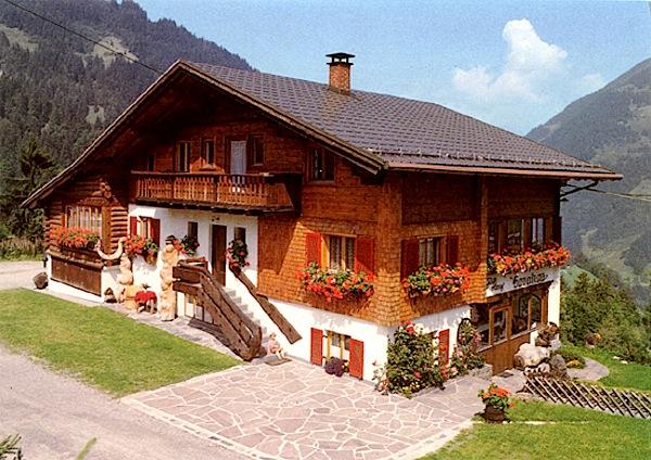 chalet Oostenrijk in Montan in de zomer